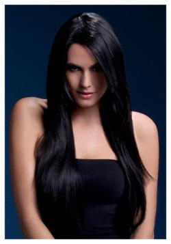 Fever Amber Black Wig