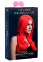 Styleable Fever Khloe Neon Red Wig front