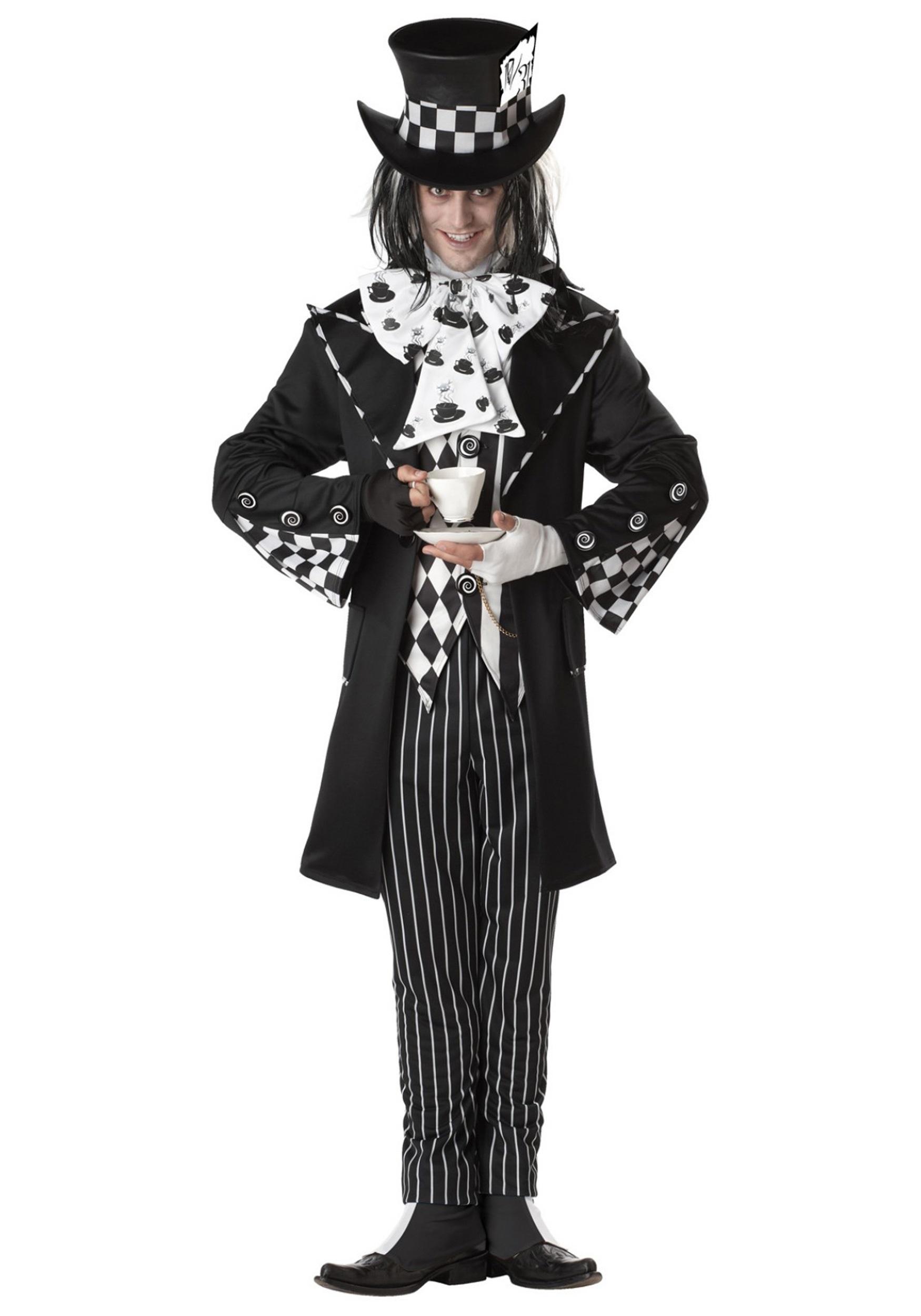 Dark Mad Hatter Costume  sc 1 st  Halloween Costumes UK & Storybook u0026 Fairytale Costumes - Adult Kids Fairy Tale Character ...
