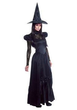 Womens Emerald Witch Costume