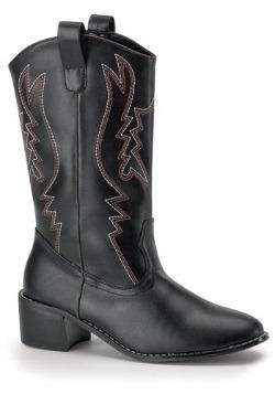 Mens Black Cowboy Boots