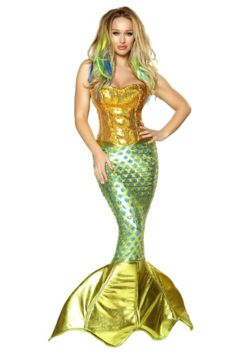 Womens Siren of the Sea Costume