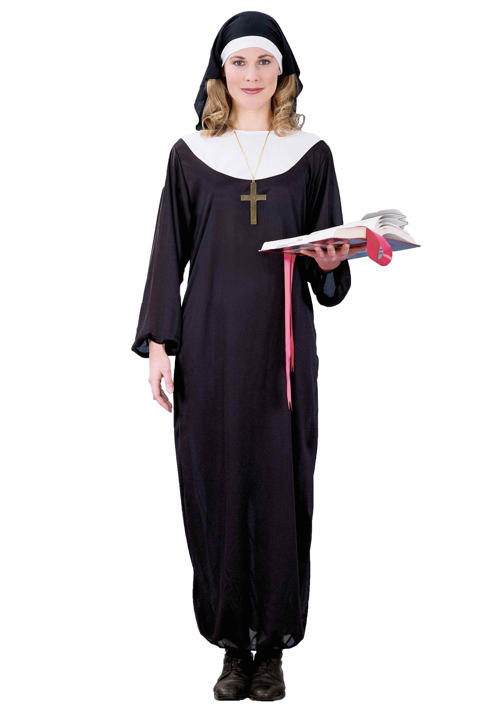 adult nun costume. Black Bedroom Furniture Sets. Home Design Ideas