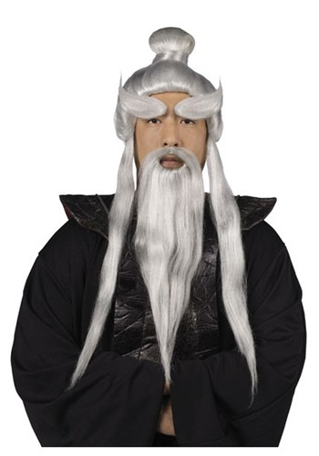 Sensei Wig and Beard Set