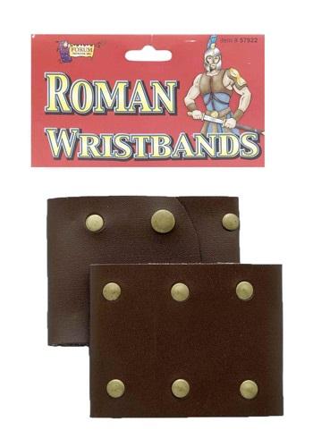 Roman Leather Wristbands
