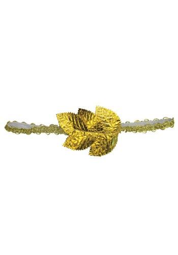Gold Leaf Roman Headband