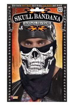 Skull Face Biker Bandana