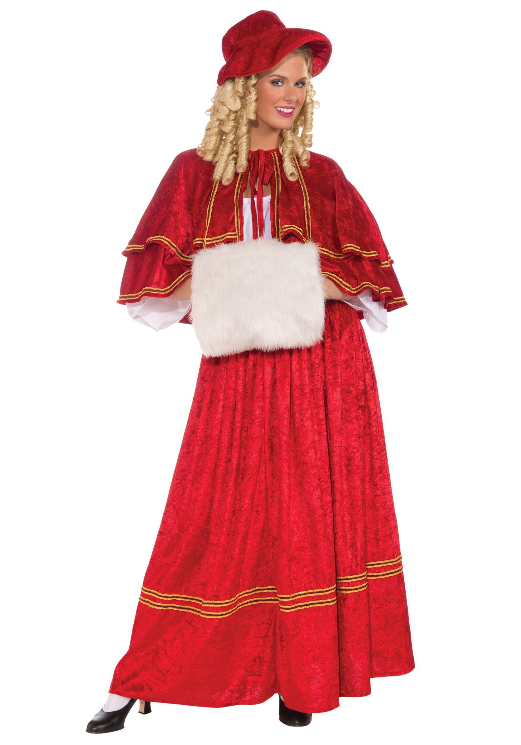 Christmas Caroling Costume.Christmas Caroler Costume
