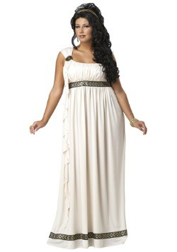 Plus Size Olympic Goddess Costume
