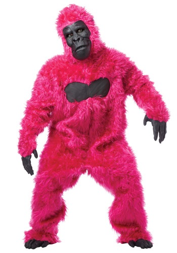 Pink Gorilla Suit