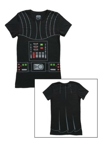 Womens I Am Darth Vader Costume TShirt