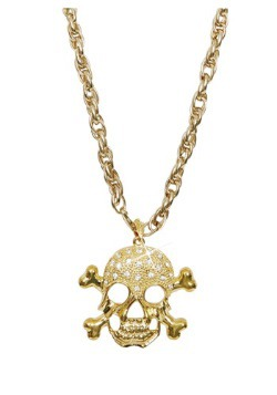Gold Pirate Necklace