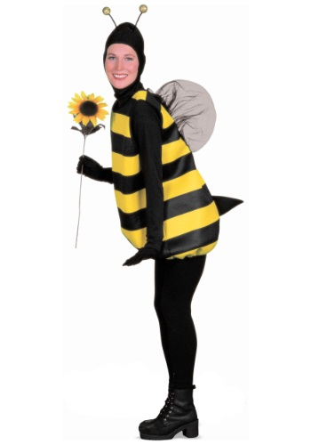 Plus Size Bumble Bee Costume Front