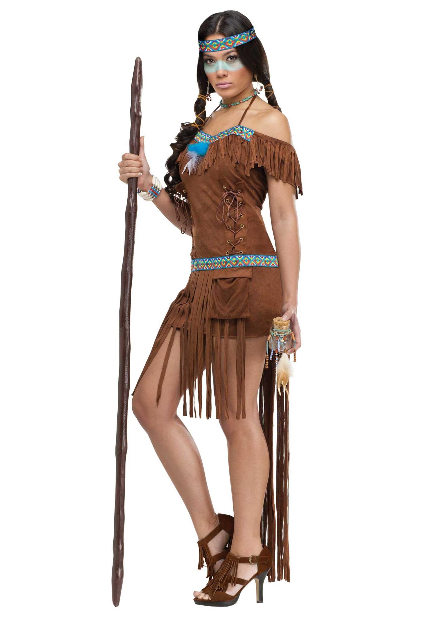 a102bf99e23 Women's Native American Healer Costume