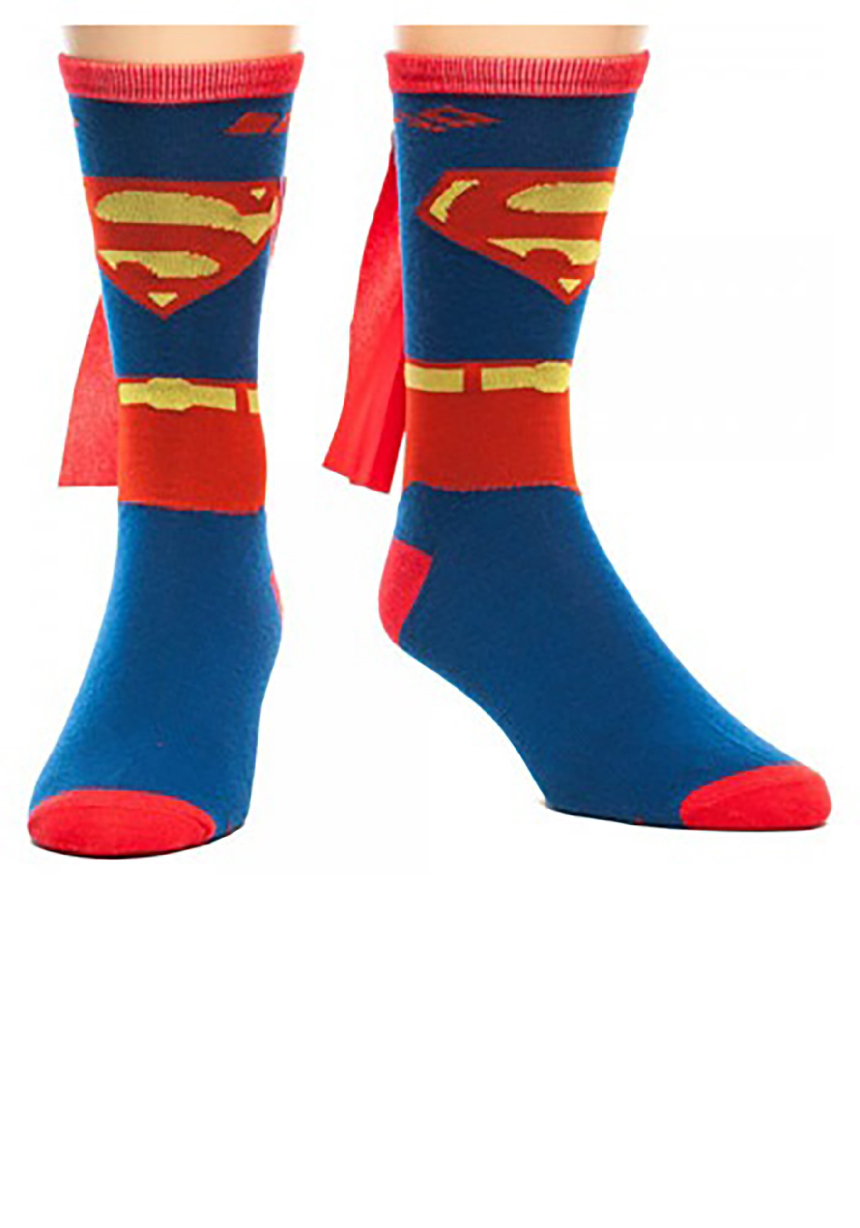 Superman_Cape_Crew_Socks