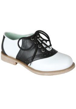 Kids Saddle Shoes