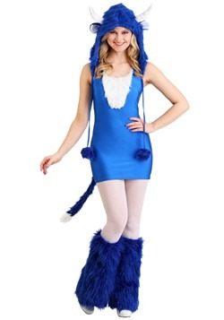 Sexy Blue Ox Costume