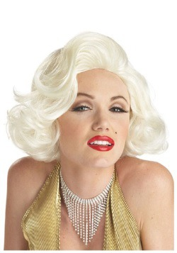 Classic Marilyn Costume Wig