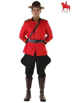 Mens Canadian Mountie Costume