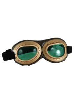 Aviator Goggles Gold