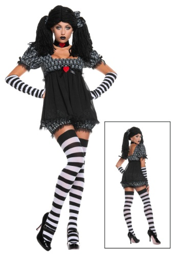 Exclusive Sexy Gothic Rag Doll Costume