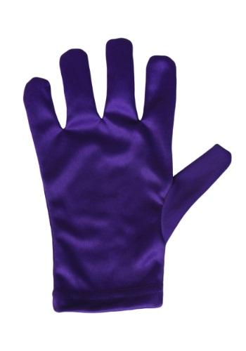 Child Purple Gloves