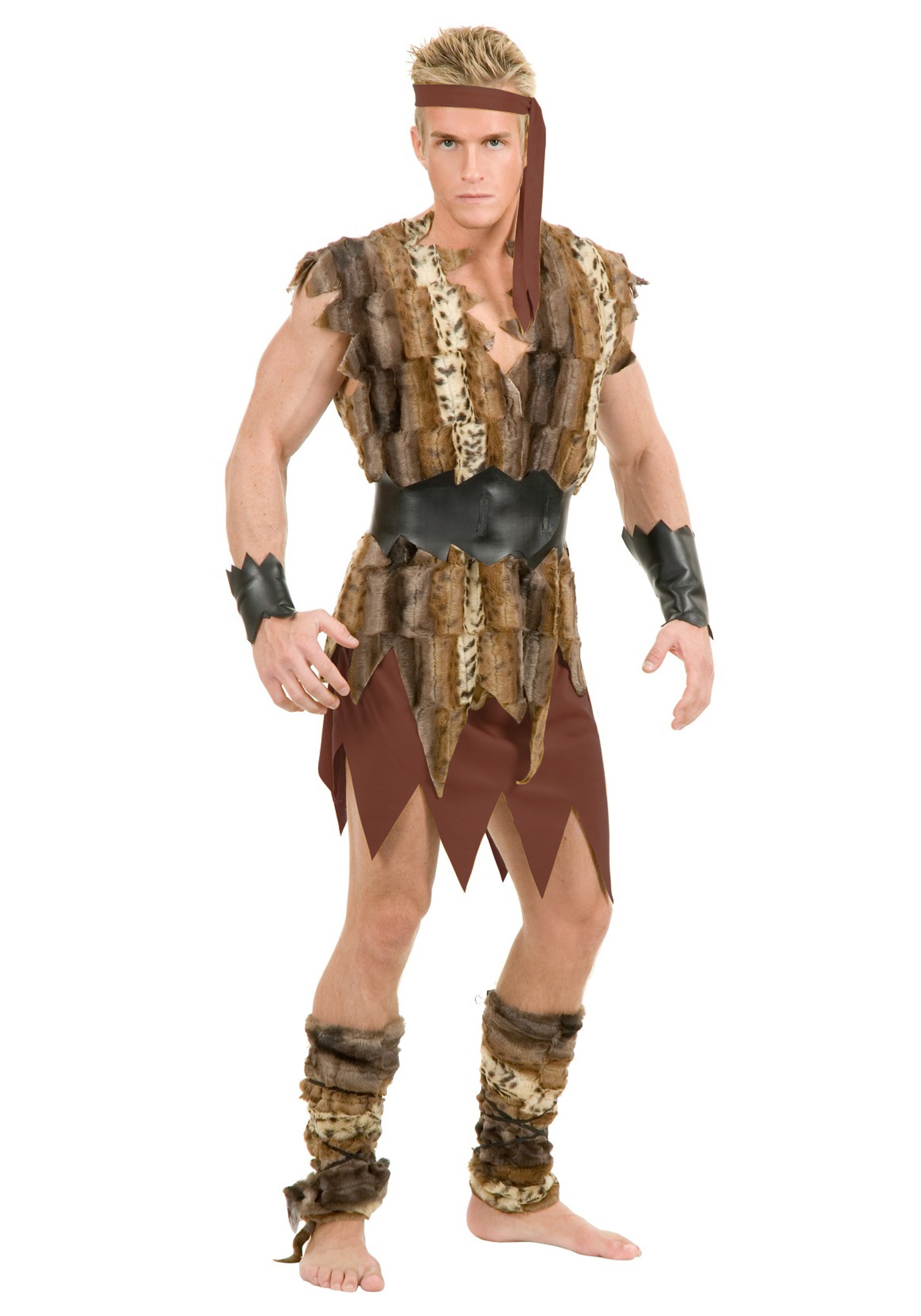 Cool Caveman Fancy Dress Costume