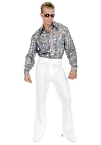 Plus Size Glitter Disco Shirt