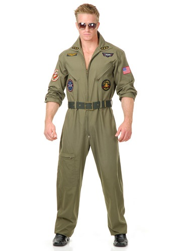 Plus Size Air Force Pilot Costume