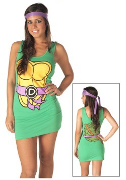 TMNT Donatello Purple Tank Dress