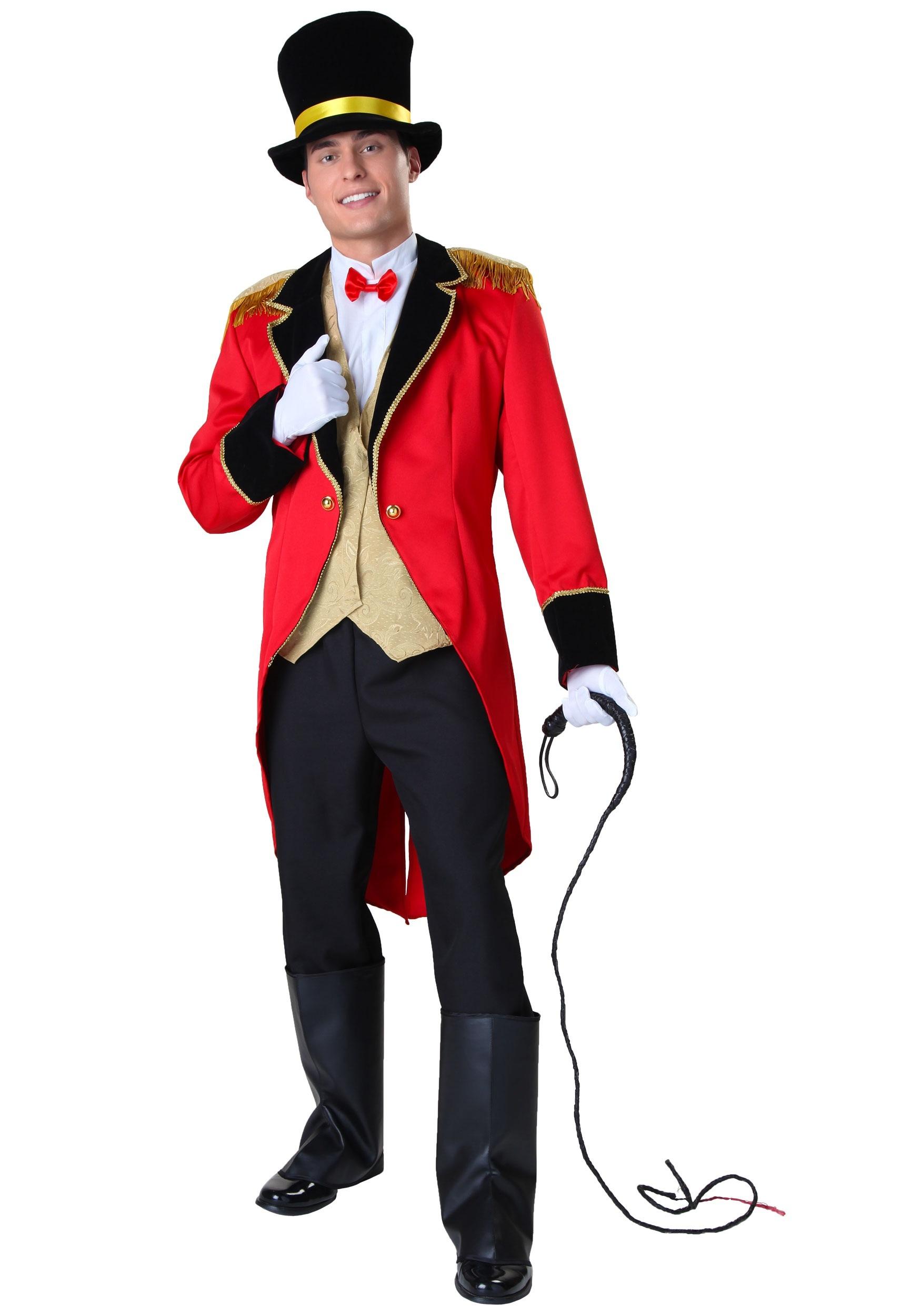 Plus Size Ringmaster Costume  sc 1 st  Halloween Costumes UK & Circus Costumes For Adults u0026 Kids - HalloweenCostumes.com