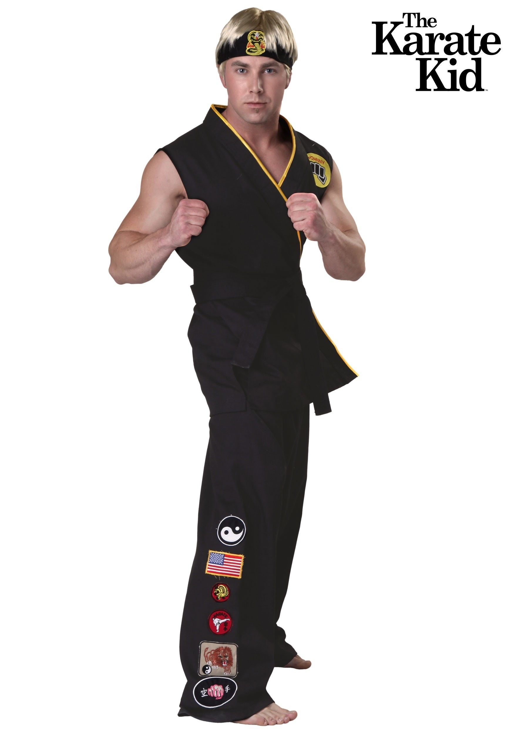 Karate Kid Bad Guy Halloween Costume