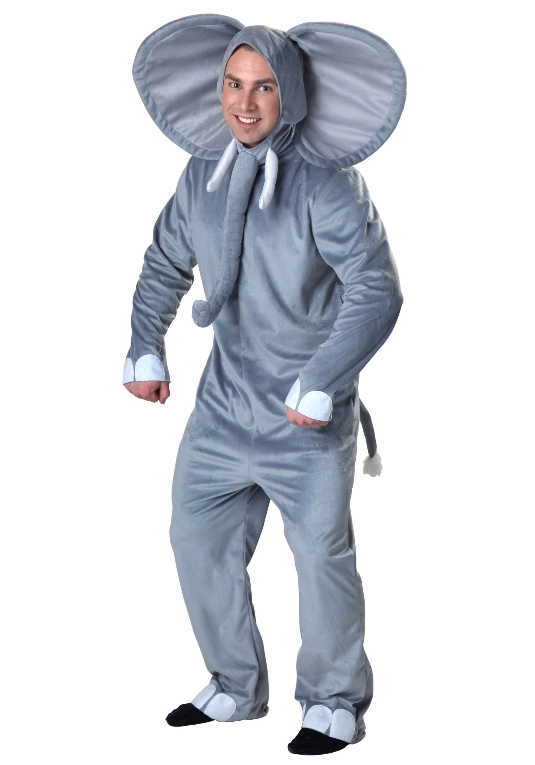 Adult Happy Elephant Costume  sc 1 st  Halloween Costumes UK & Jungle Book Costumes
