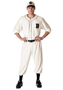 Plus Size Vintage Baseball Player Costume