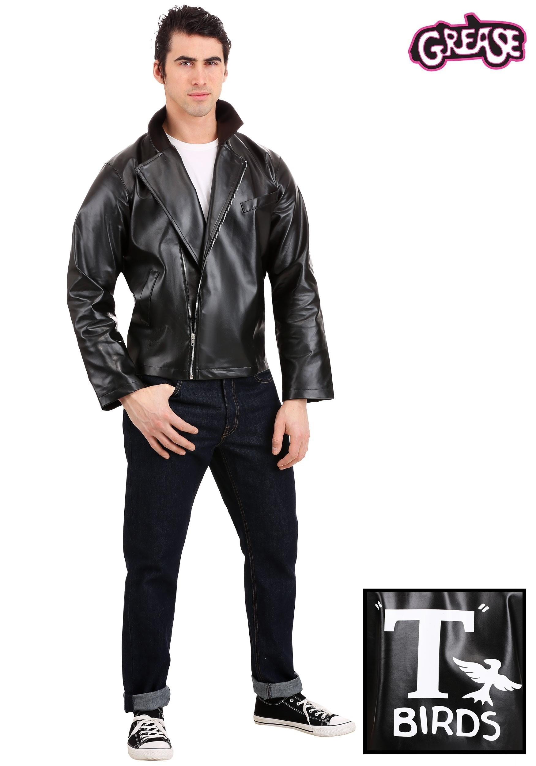 Adult Grease T-Birds Jacket-9670