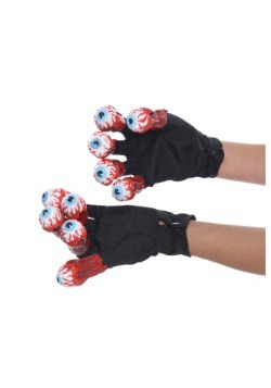 Beetlejuice Gloves with Eyeballs