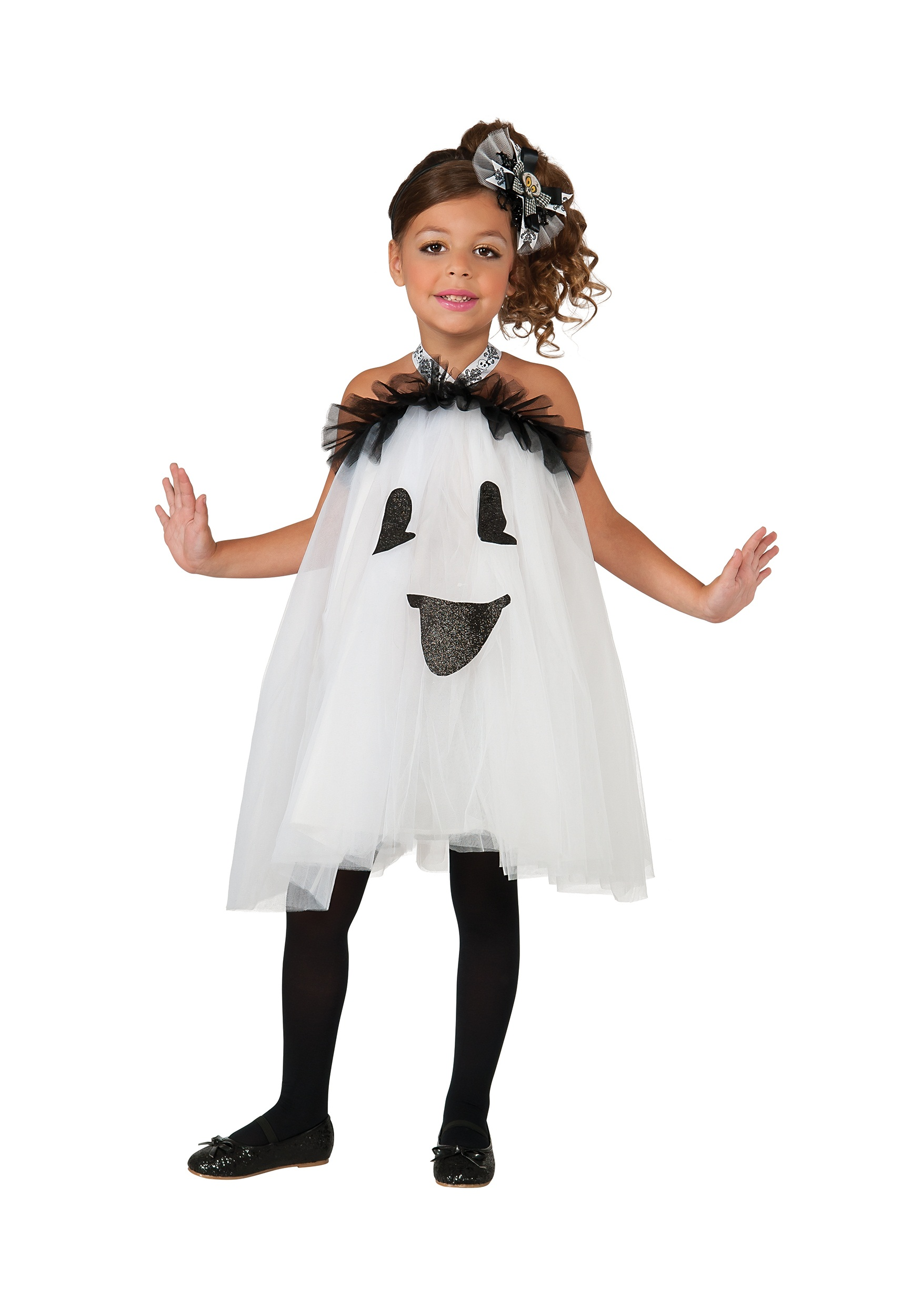 sc 1 st  Halloween Costumes UK & Girls Ghost Tutu Dress