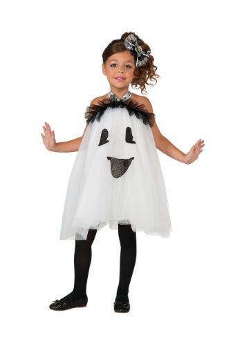 Girls Ghost Tutu Dress
