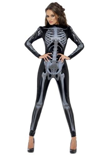 Womens Fever Skeleton Costume