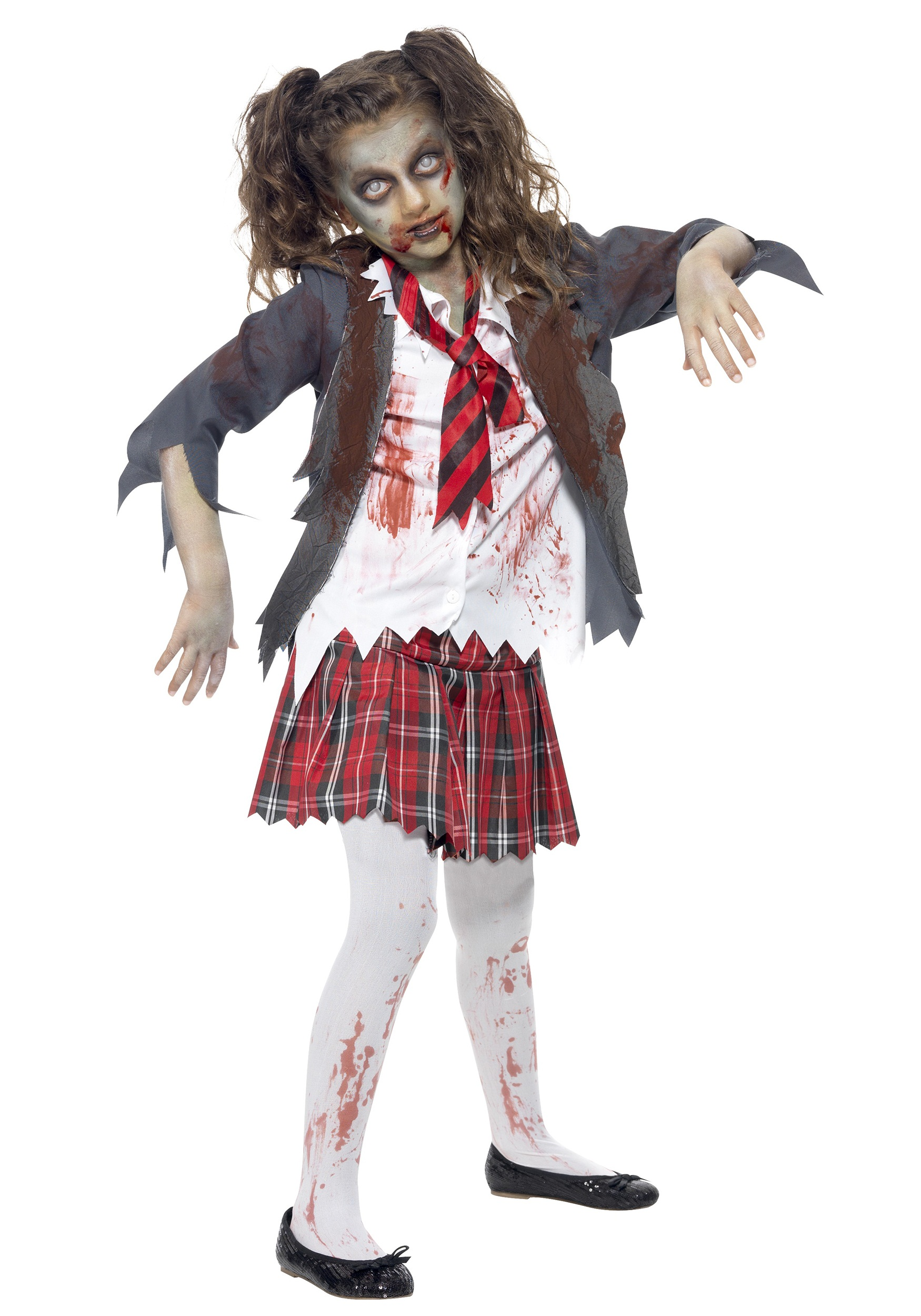 Kids Zombie School Girl Costume  sc 1 st  Halloween Costumes UK & Girls Costumes - Girls Halloween Costumes