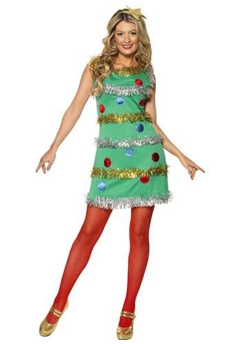 Womens Christmas Tree Dress