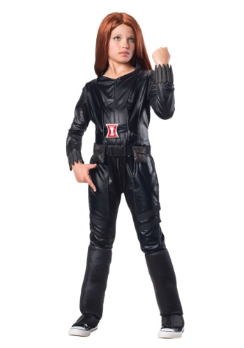 Child Deluxe Black Widow Costume