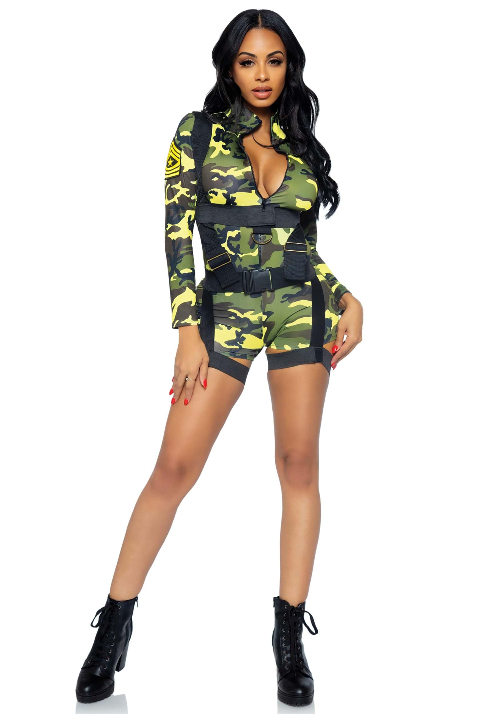 dfebb7397da3f Women's Goin Commando Army Costume