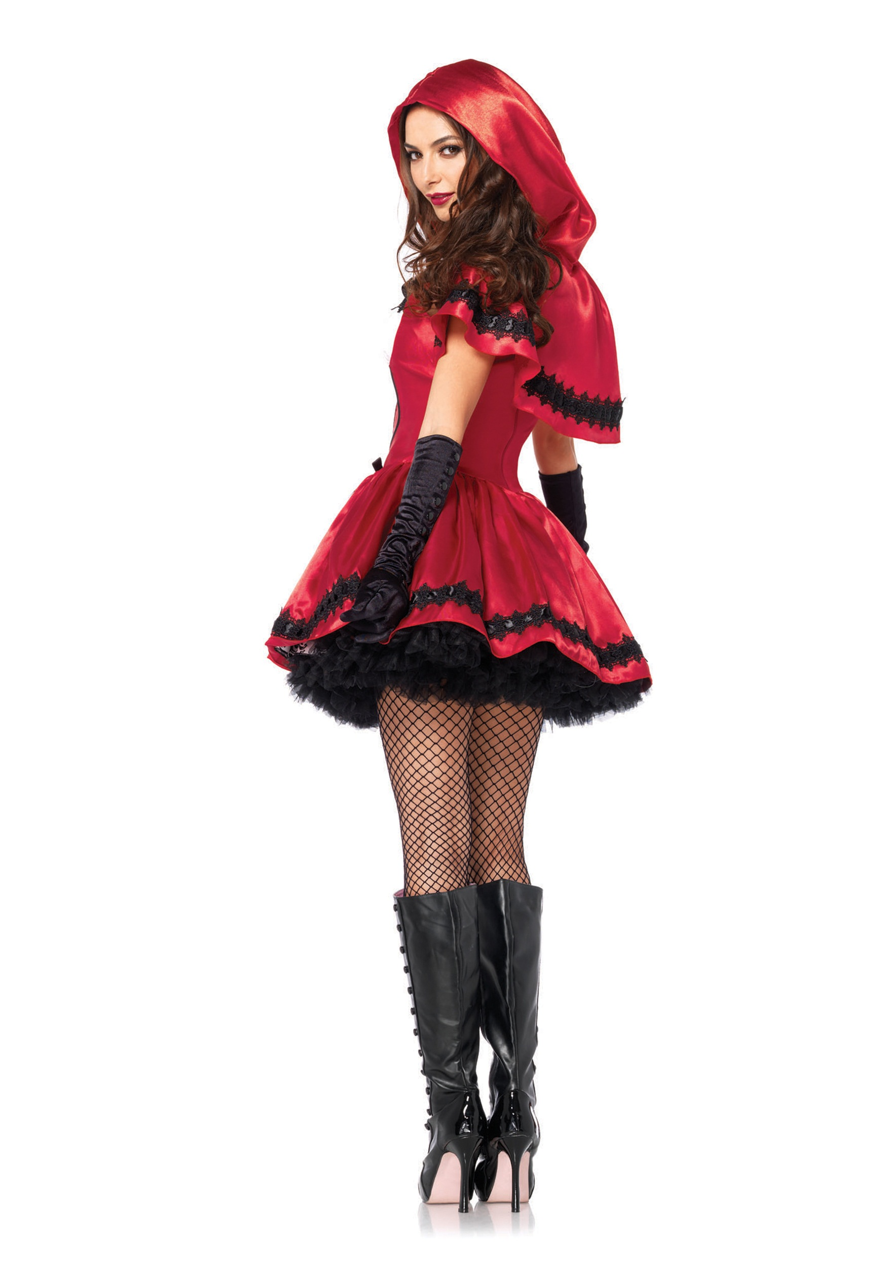 Gothic Home Decorations Gothic Red Riding Hood Adult Costume