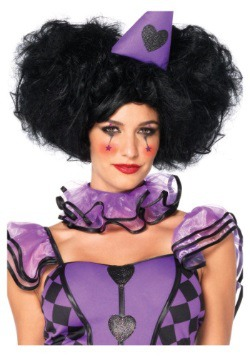 Red Queen Black Bob Wig