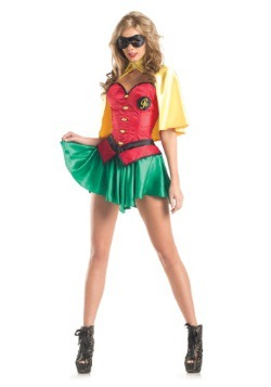 Womens Miss Robin Costume