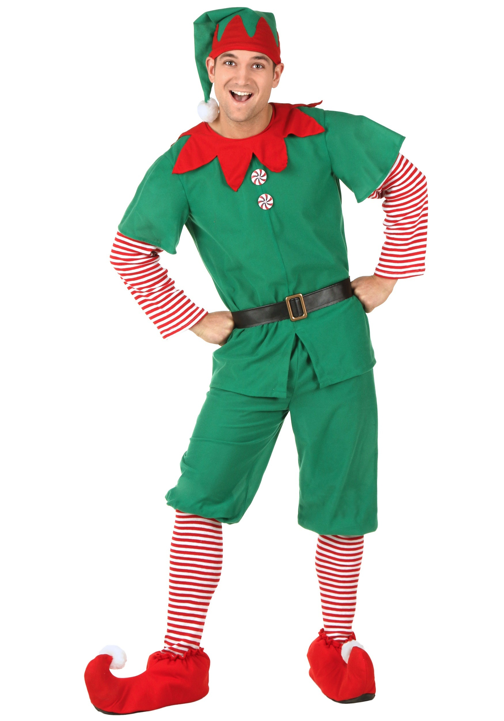 Plus Size Holiday Elf Costume  sc 1 st  Halloween Costumes UK & Plus Size Menu0027s Costumes - Adult Plus Size Halloween Costumes