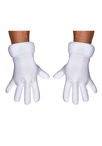 Adult Super Mario Hands
