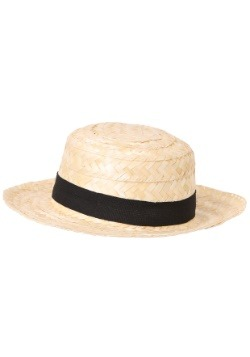 Straw Skimmer Hat