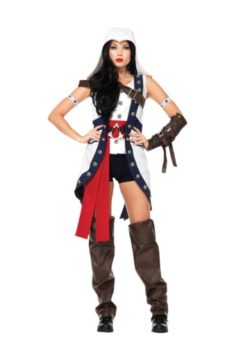 Assassin's Creed Connor Girl Costume